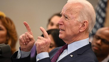 جو بايدن.
