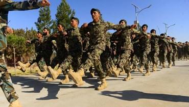 تدريبات للجيش الافغاني