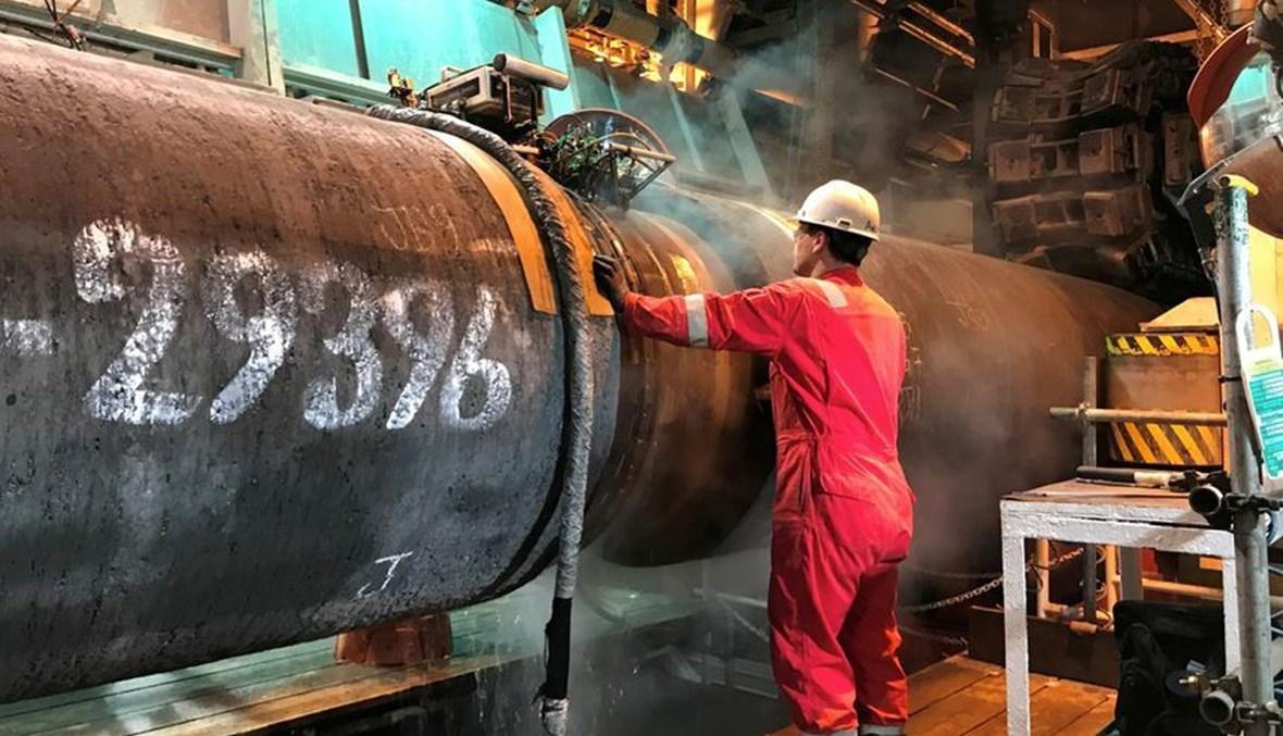 قطاع أنابيب الغاز