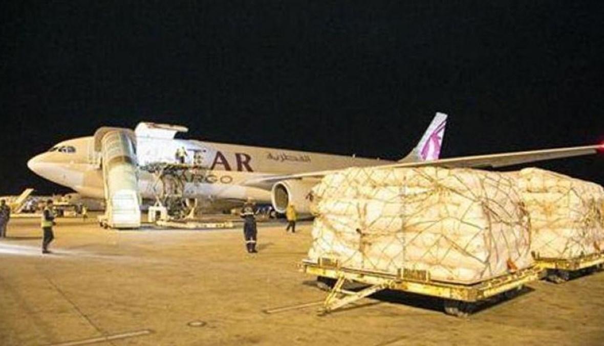 مساعدات قطرية لليمن (ارشيفية)