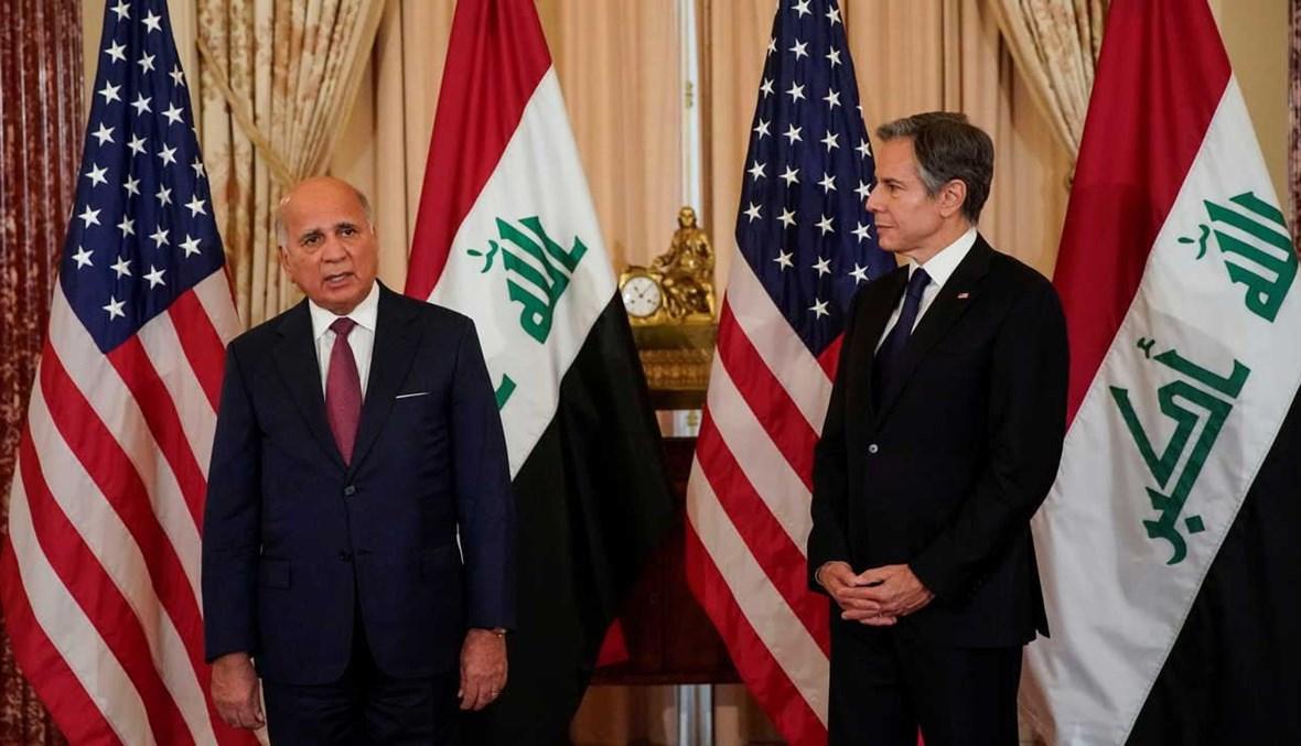 Blinken and Hussein