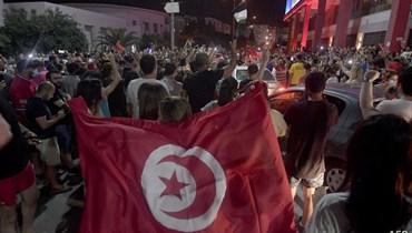 تظاهرات في تونس دعماً لقيس سعيّد