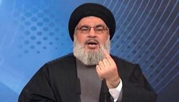 """أمين عام """"حزب الله"""" حسن نصرالله"""