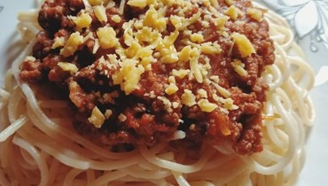 معكرونة بولونيز... وصفة شهيّة من المطبخ الإيطالي