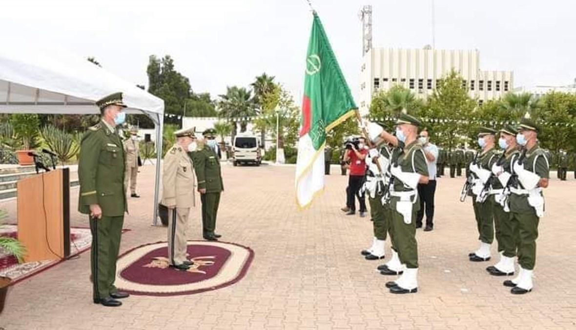 خلال تنصيب العميد يحي علي والحاج قائدا للدرك الوطني