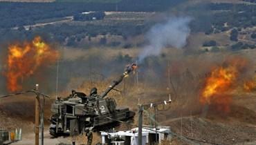 قصف إسرائيلي. أ ف ب