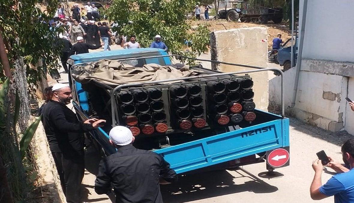 """راجمة صواريخ """"حزب الله"""""""