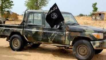 """آلية تابعة لتنظيم """"داعش"""" في غرب إفريقيا في 2  آب 2019 في باغا بنيجيريا"""