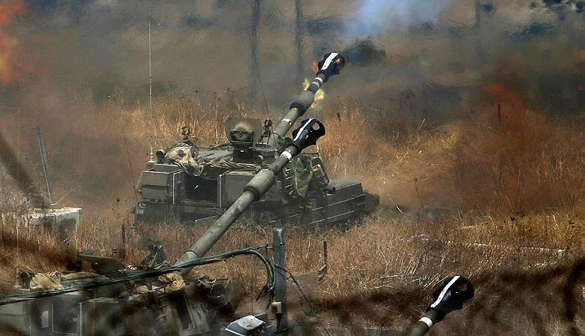دبابة سرائيلية تقصف باتجاه الاراضي اللبنانية
