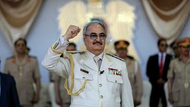 قائد الجيش الليبي المشير خليفة حفتر