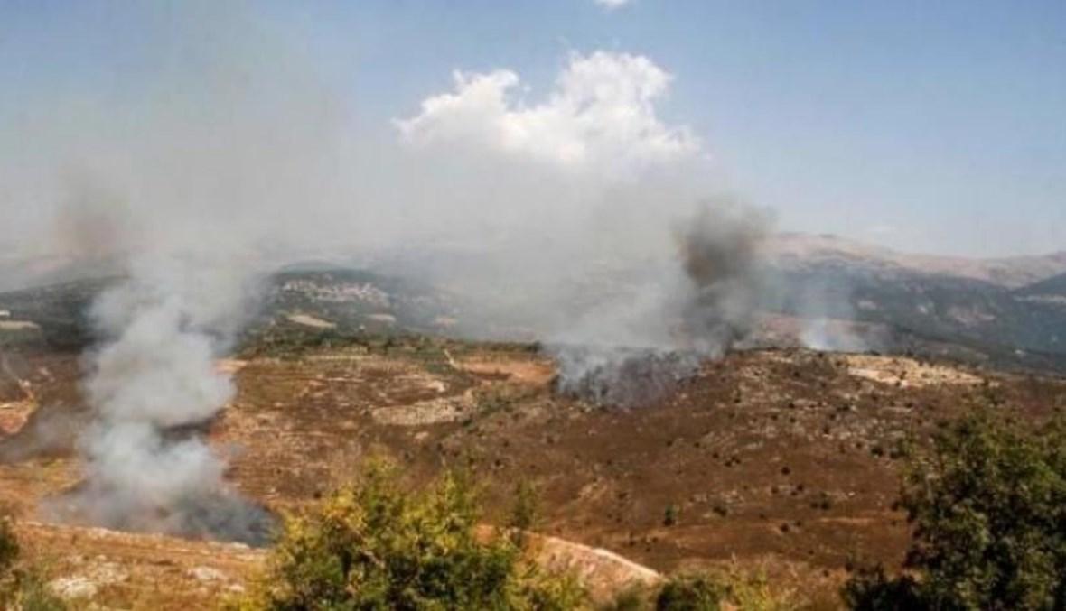 """اسرائيل ردت على صواريخ """"حزب الله"""" بقصف مناطق غير ماهولة أيضا"""