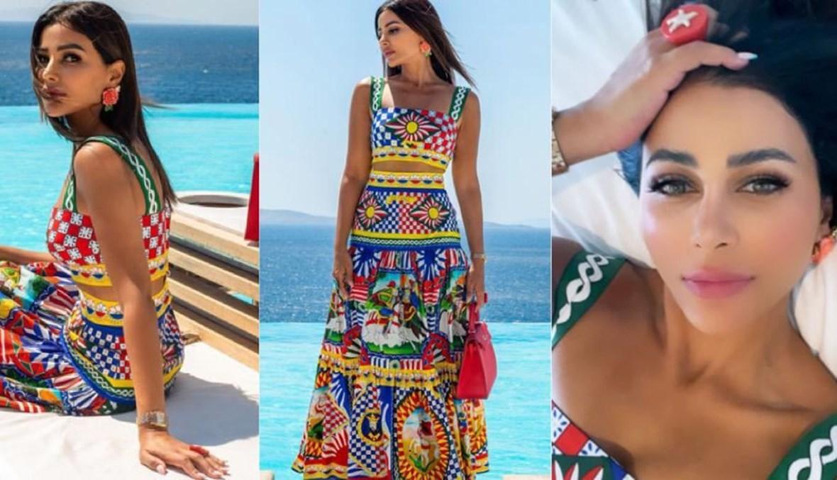 ماهيرا عبدالعزيز بتوقيع دولتشي أند غابانا Dolce & Gabbana