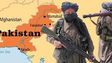 خريطة الحدود بين باكستان وافغانستان