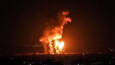 غارات اسرائيلية على غزة (أرشيفية)