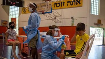 تلقيح الأطفال في إسرائيل
