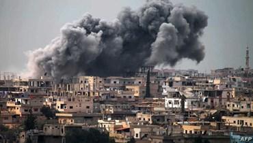 قصف سابق على درعا
