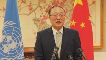 مبعوث الصين لدى الأمم المتحدة تشين شو