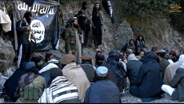 """عناصر تابعة لـ """"داعش"""" في افغانستان"""