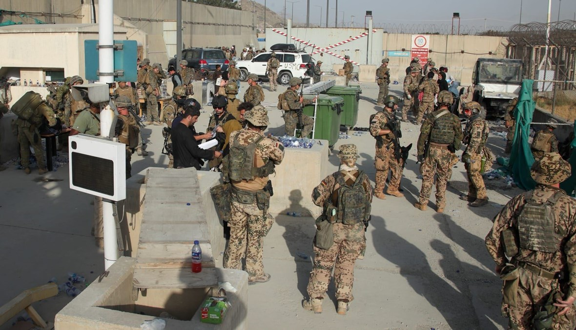 قوات أميركية في مطار كابول