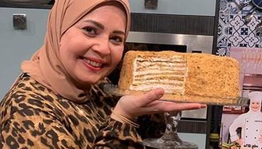 كعكة العسل... وصفة شهية ولذيذة