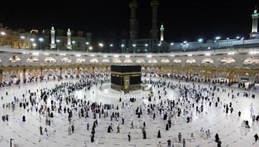 حجاج في مكة المكرمة