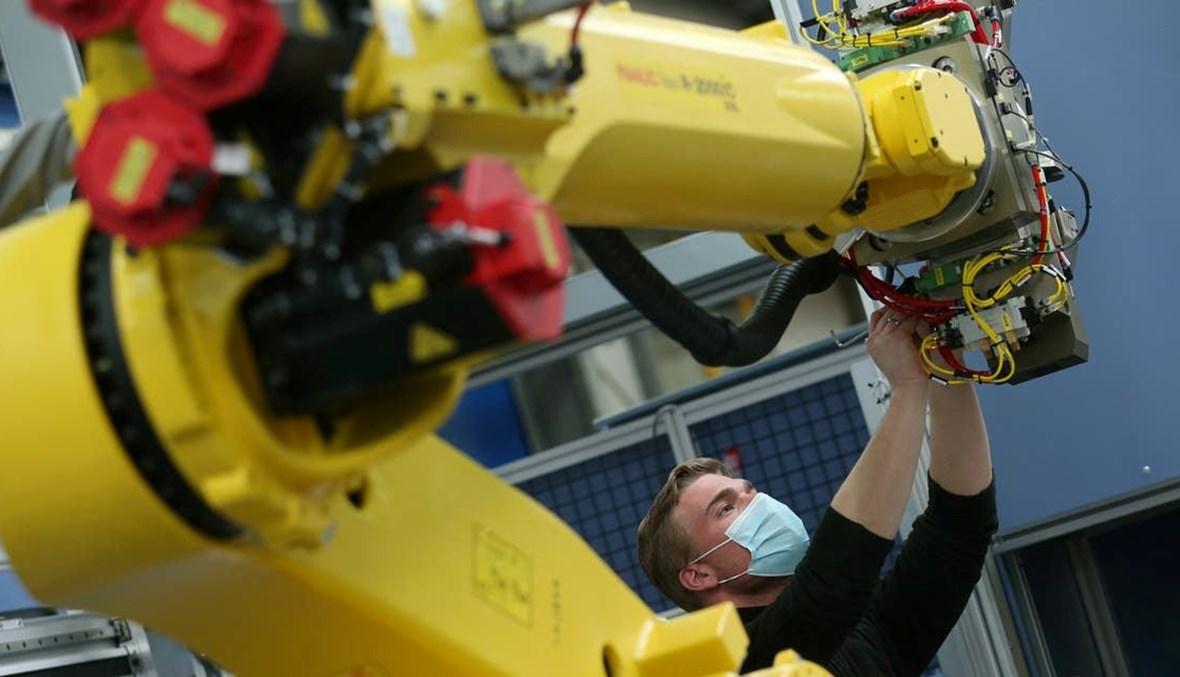 مصنع ألماني للروبوتات