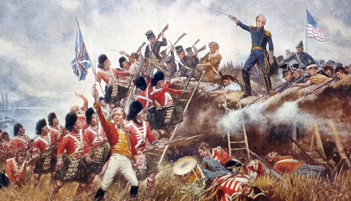 رسم لإحدى الحروب الأميركية الداخلية