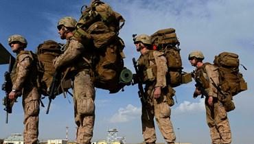 جنود اميركيون يغادرون افغانستان