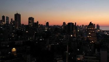 بيروت في الظلام
