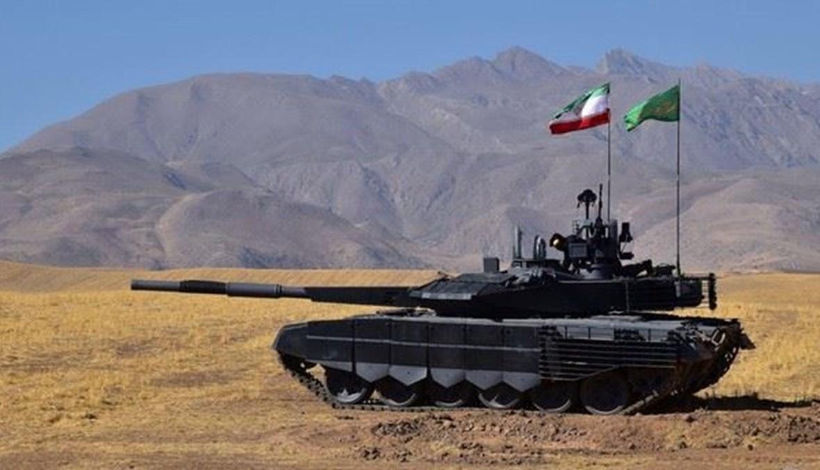 دبابة ايرانية