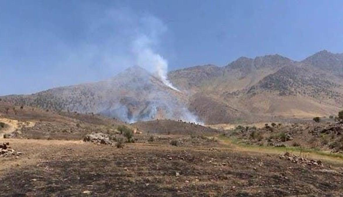 قصف إيراني على أربيل