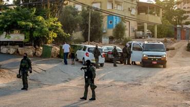 انتشار أمني اسرائيلي