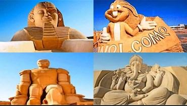 متحف الرمال بالغردقة... محاكاة حقيقية لمختلف الحضارات حول العالم
