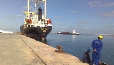 ميناء رأس لانوف الليبي