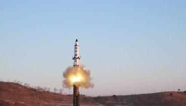 تجربة صاروخية لكوريا الشمالية (أرشيفية)