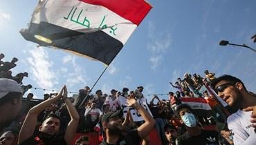 من انتفاضة تشرين العراقية