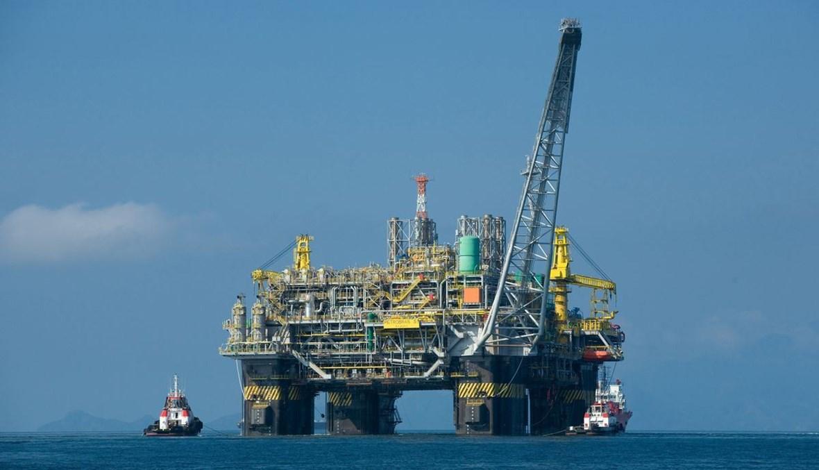 محطة لاستخراج النفط من خليج المكسيك