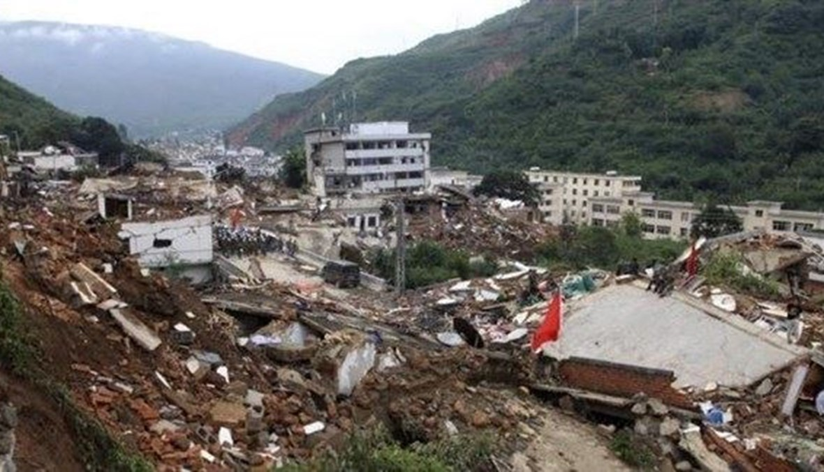 زلزال يضرب سيتشون