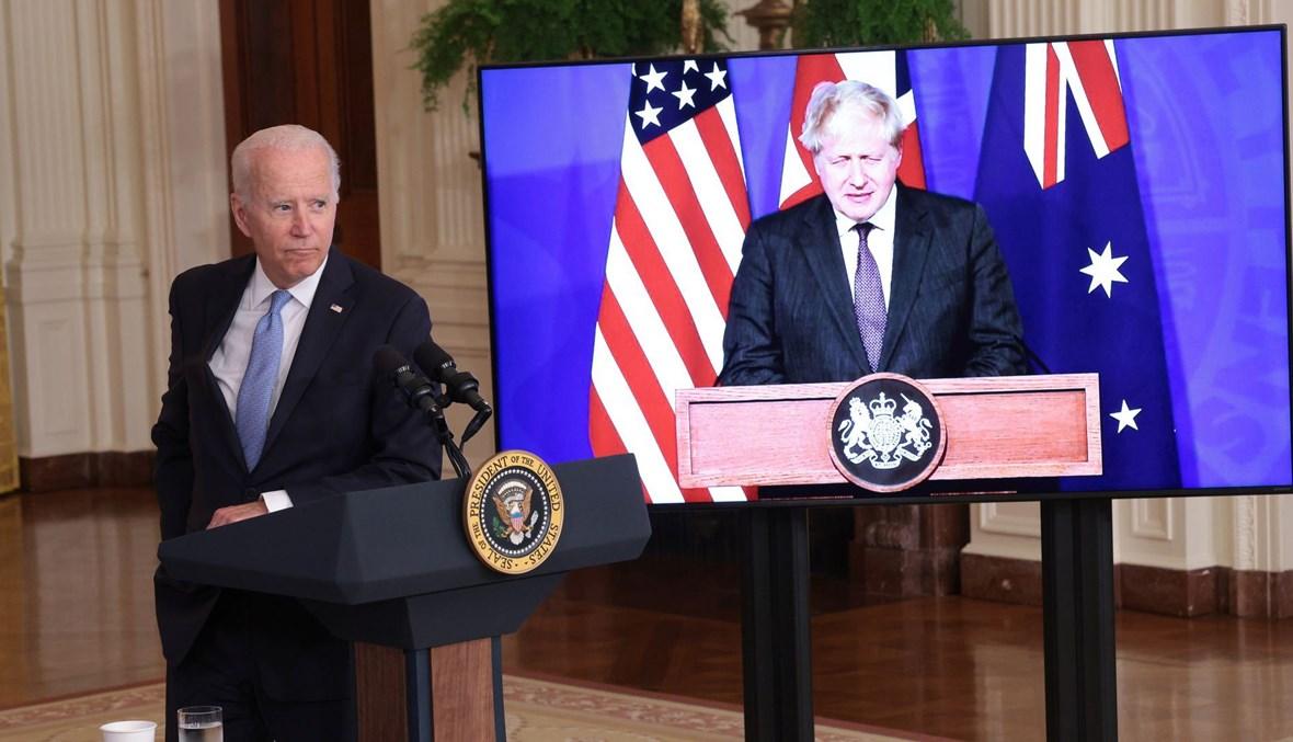 اجتماع افتراضي بين الرئيس الأميركي جو بايدن ورئيس الوزراء البريطاني بوريس جونسون