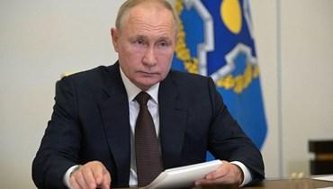 الرئيس الروسي فلاديمير بوتين (ا ف ب)