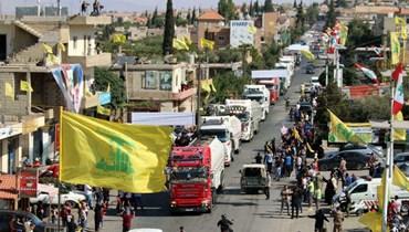 صهاريج المحروقات الإيرانية في لبنان