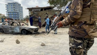 من موقع أحد التفجيرات في جلال آباد