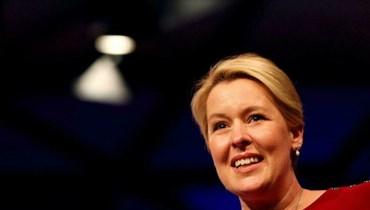 الرئيسة الجديدة لبلدية برلين فرانسيسكا غيفاي