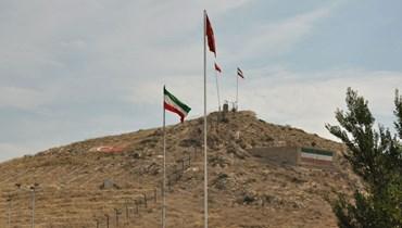 الحدود التركية الايرانية