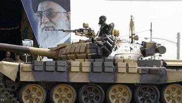 آلية عسكرية ايرانية