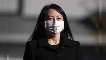 المديرة المالية لشركة هواوي مينغ وانتشو