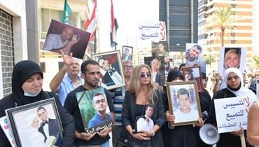 أهالي ضحايا انفجار المرفأ يطالبون بالعدالة