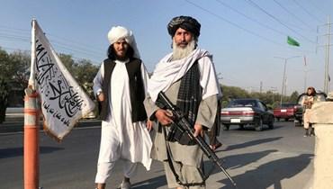 """عناصر من حركة """"طالبان"""""""