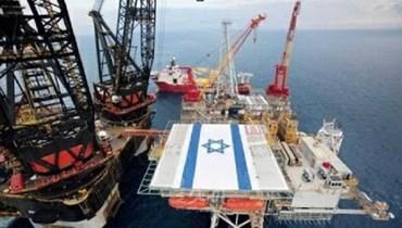 منصة تنقيب اسرائيلية