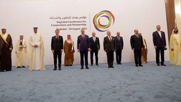 """من """"مؤتمر بغداد للتعاون والشراكة"""" في 28 آب (أغسطس) الماضي."""